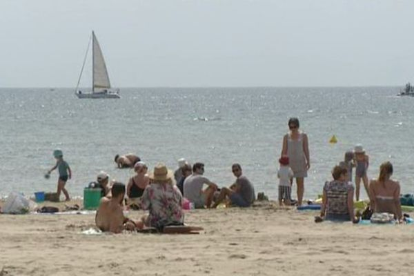Palavas-Les-Flots, la plage - archives