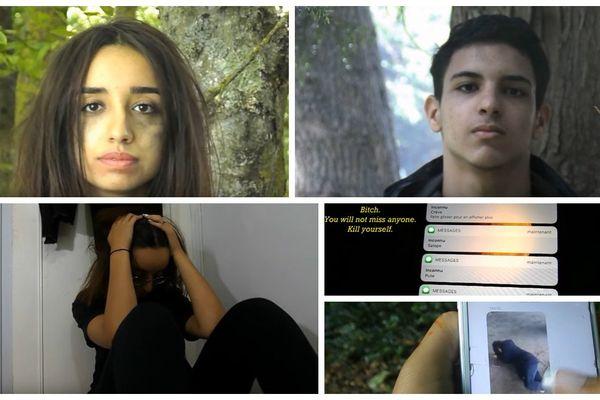 Deux adolescentes du Loiret ont choisi de réaliser un court-métrage pour sensibiliser au harcèlement, qu'il soit moral, physique ou scolaire