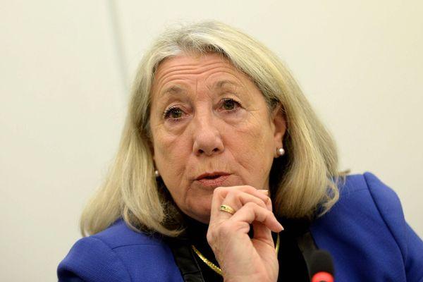 Joelle Mélin, conseillère municipale d'Aubagne réélue eurodéputée sur la liste du Rassemblement national.
