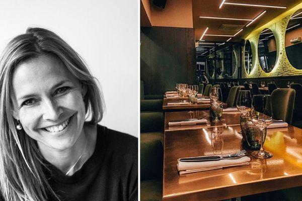 À gauche, Marie-Laure Fréchet, directrice de Mange Lille / à droite, le restaurant Rozo, fraîchement étoilé.