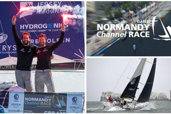 La Normandy Channel Race fête ses 10 ans en 2019. La course est devenue un rendez-vous important du calendrier des Class 40.