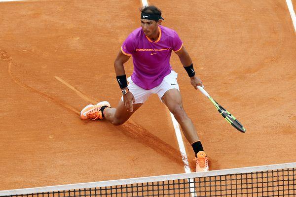 Rafael Nadal, le 23 avril, lors de sa victoire au Masters 1000 de Monte-Carlo