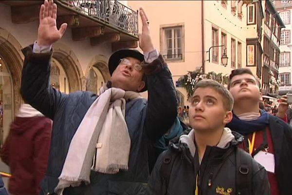 L'association « Les enfants de Bethléem » fait la visite de Strasbourg aux jeunes Palestiniens.