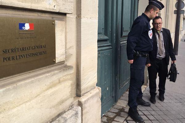 David Tan reçu à Matignon par le Premier ministre Edouard Philippe, le 4 décembre 2018