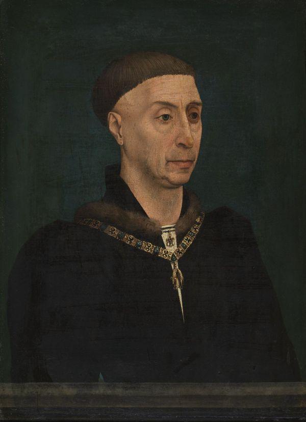 Portrait de Philippe le Bon par Rogier van der Weyden, seconde moitié du 15e siècle.