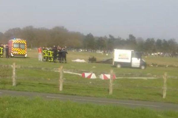 L'accident s'est produit vers 17h.