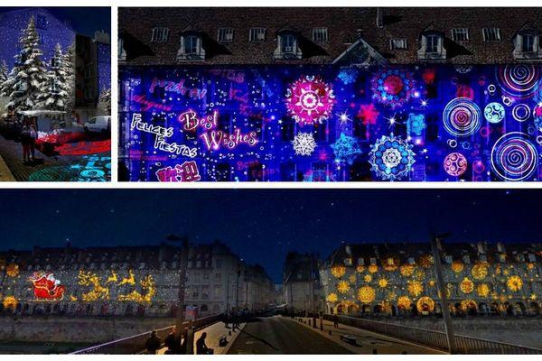 Besançon illumine ces façades pour les fêtes de Noël