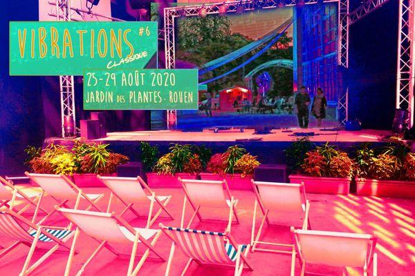6e édition du festival Vibrations à l'orangerie du jardin des plantes de Rouen