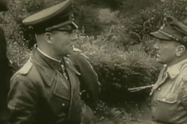 """capture d'écran, """"100 jours en été"""" : épisode du 9 juin 1944, Rommel"""