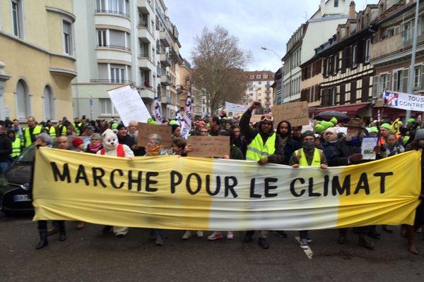"""La """"marche pour le climat"""", le 8 décembre à Strasbourg."""