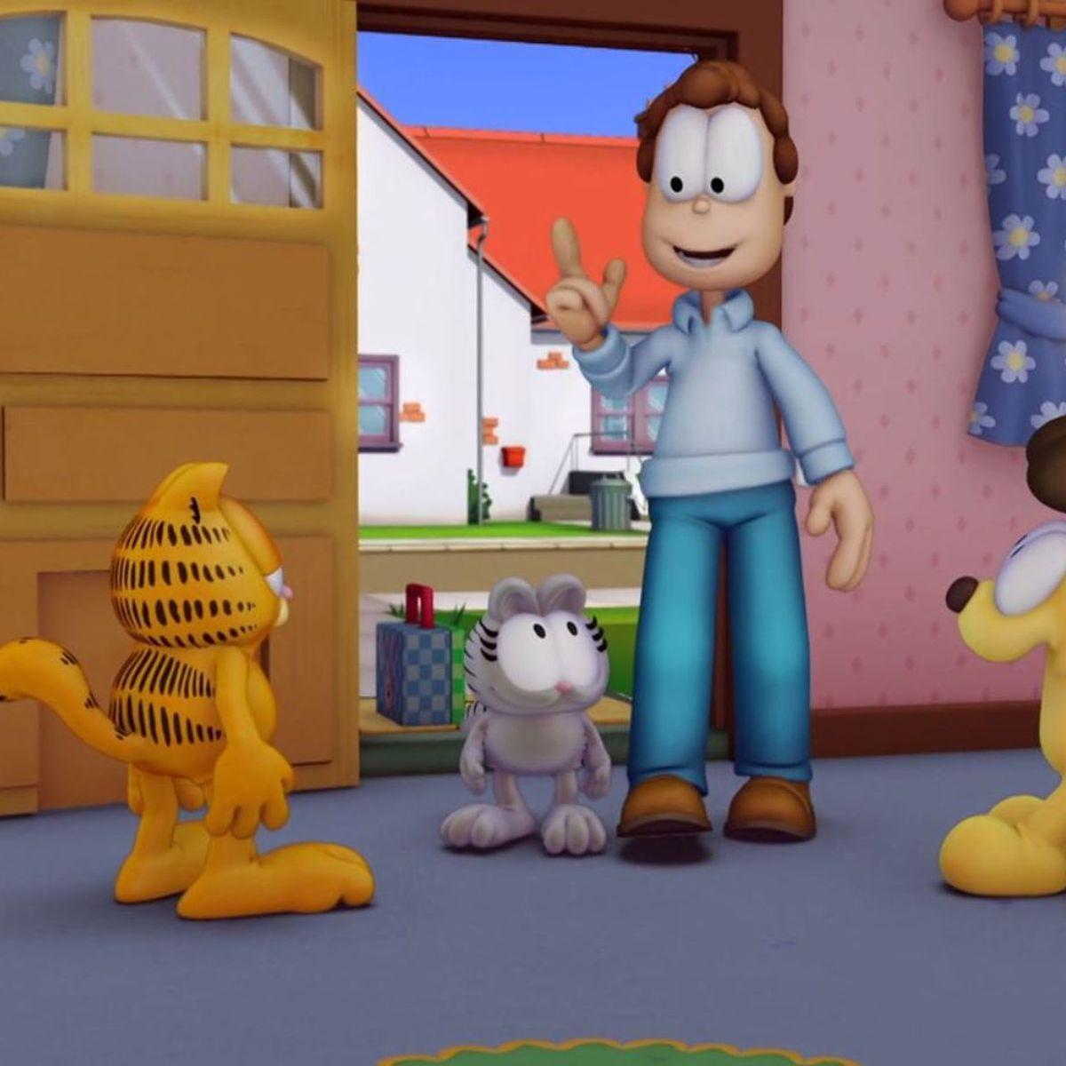 Garfield E Brezhoneg Garfield En Breton Nermal En Ti