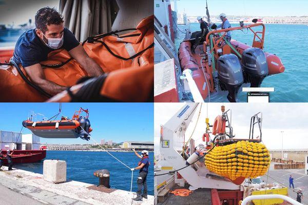 """Durant la pandémie les départs de réfugiés se sont poursuivis, d'après l'ONG SOS Méditerranée, qui estime qu'""""il est urgent de repartir""""."""