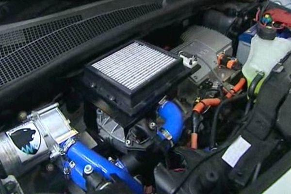Le moteur à mélange oxygène-hydrogène développé par SymbioFCell