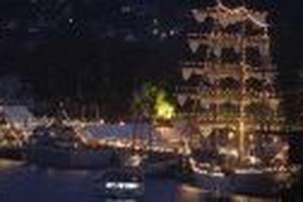 L'Armada la nuit
