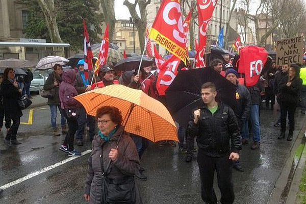 Carcassonne - manifestation contre la loi Travail - 9 mars 2016.