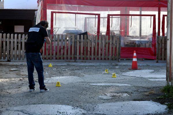 Les lieux de la fusillade