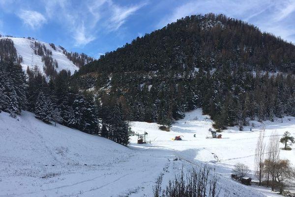 La Colmiane se prépare à ouvrir ses pistes le 1er décembre.