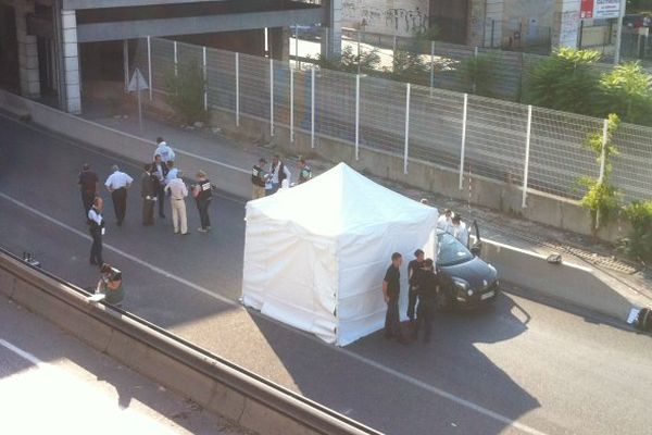 Un mort par balles dans le 13eme arrondissement de Marseille - photo Olivier Chartier-Delègue