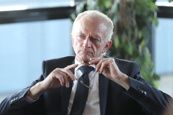 Michel Deneken est devenu le président de l'université de Strasbourg (Bas-Rhin) en 2016.