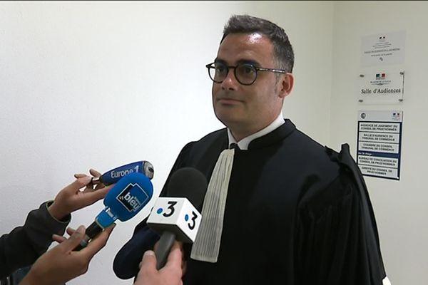 Me Daniel Gaubour, avocat de WN.