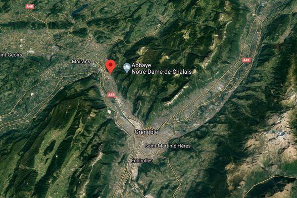 Un incendie s'est déclaré dans un cabinet médical à Voreppe (Isère).
