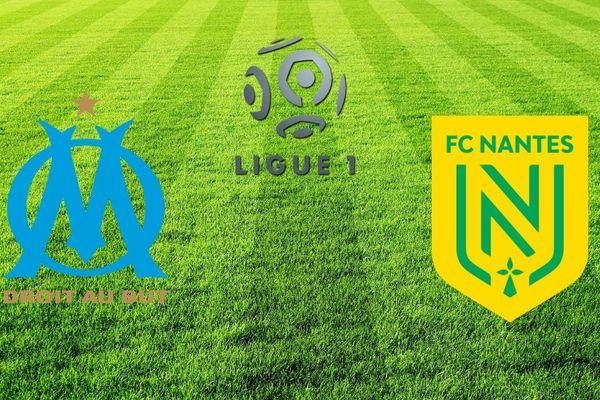 Pour la 26e journée du championnat de ligue 1, l'Olympique de Marseille reçoit le FC Nantes à 17h30.