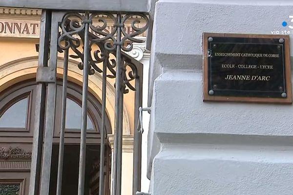 Ce lundi 18 mai, en Corse, seuls les collèges privés ont pu accueillir leurs élèves de 6e et de 5e.