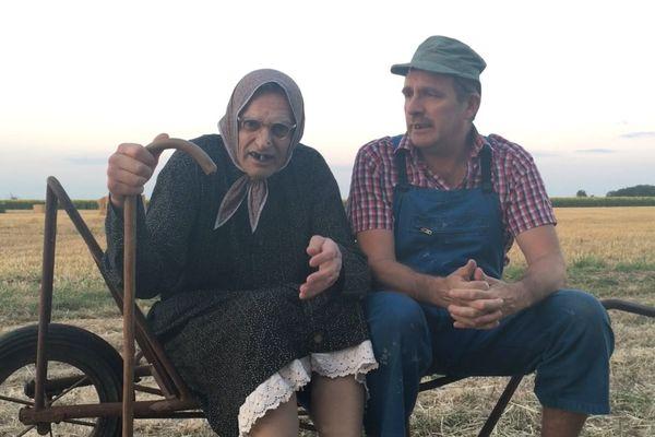 Le duo d'humoriste Les Bodin's soutient dans une vidéo la maternité du Blanc.