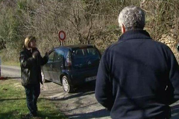 Les maires des deux communes se sont déplacés sur le terrain de la discorde