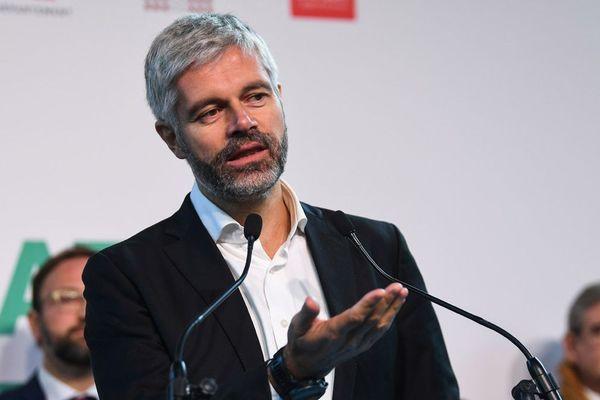 Laurent Wauquiez, président LR de la Région Auvergne-Rhône-Alpes.