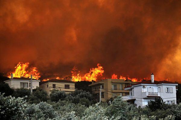 Arrivés en Grèce le 5 août, les 40 pompiers français doivent faire face aux terribles incendies favorisés par la sécheresse.