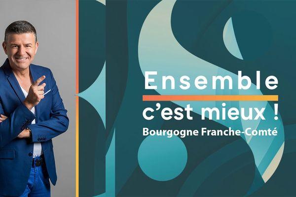 Ensemble c'est mieux sur France 3 Bourgogne Franche-Comté avec Pascal Gervaize