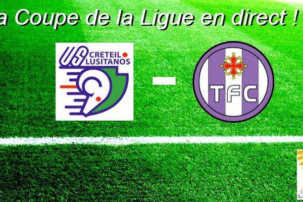 Vous pourrez suivre la rencontre US Créteil Lusitanos - Toulouse FC mardi soir, à partir de 20h sur francetvsport.