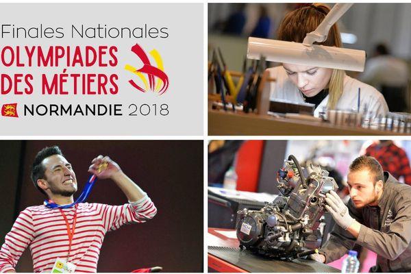 Les finales des Olympiades des métiers 2018 se déroulent au Parc des Expositions de Caen, du 28 novembre au 1er décembre.