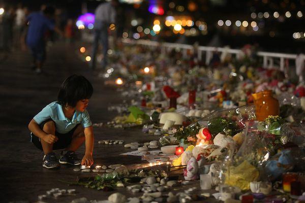 Quelques jours après l'attentat de Nice.
