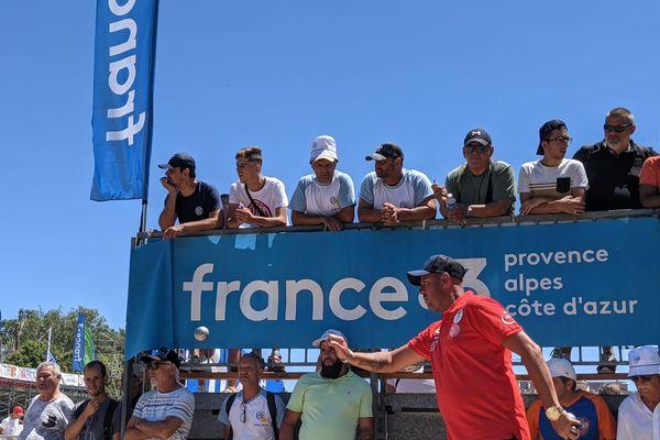 Jean-Michel Puccinelli se qualifie pour le 6e tour sans trop de difficulté.