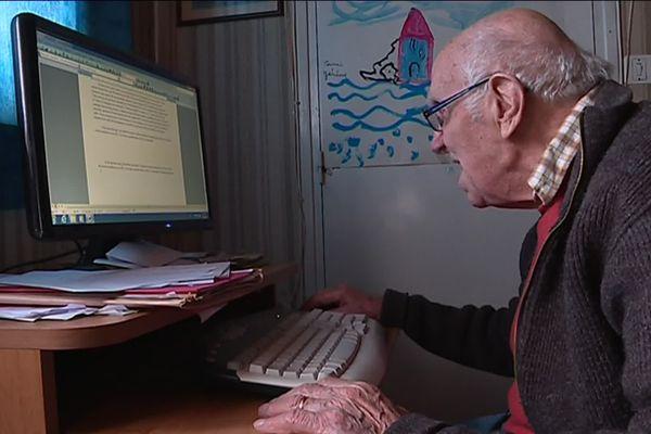 René Limouzin, 93 ans, écrivain passionné