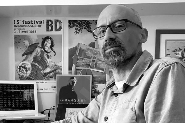 Cyrille Ternon, dessinateur de BD et illustrateur normand