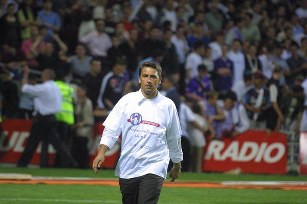 Olivier Sadran aura presque tout connu à la tête du Toulouse Football Club, comme en 2003, avec le titre de champion de France de Ligue 2 et l'accession en Ligue 1.