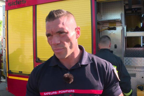 Alexandre Jacquinot, pompier et champion de culturisme, participe aux Arnold classic Europe 2021