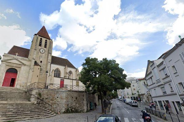 L'Église Saint-Germain de Charonne, un symbole du quartier.
