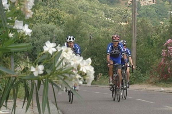 Un mois après le passage du Tour de France en Corse