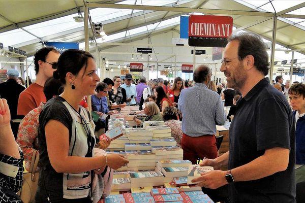 Auteur de best-sellers, Marc Levy était l'un des 200 invités de Livr'à Vannes 2019.