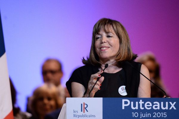 La maire (LR) de Puteaux (Hauts-de-Seine), Joëlle Ceccaldi-Raynaud, en 2015.