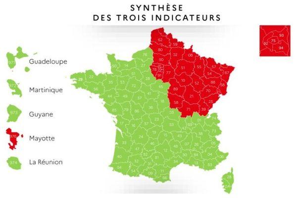 La Bretagne fait partie de la zone verte et bénéficie de règles plus souples de déconfinement. L'accès aux plages peut y être autorisé par les préfets.