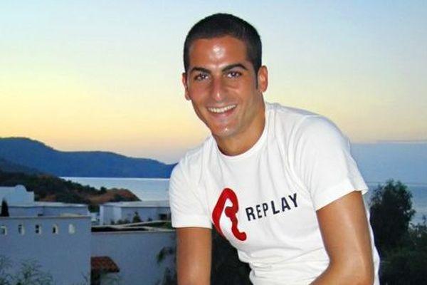 Reproduction d'une photo d'Ilan Halimi qui a été séquestré et torturé durant trois semaines dans une cité de Bagneux avant d'être retrouvé agonisant le 13 février 2006 dans l'Essonne.