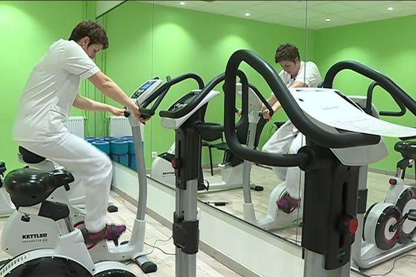 Depuis 4 ans, une salle de sport est aménagée pour les salariés sur le site de la clinique Chénieux.