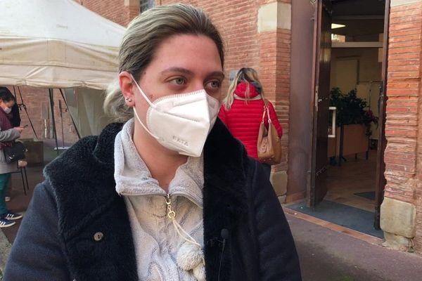 Alycia Jolivet, positive au Covid 19, est en arrêt pour sept jours.