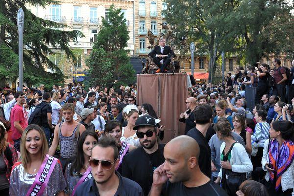 Parade du festival Fifigrot à Toulouse en 2013