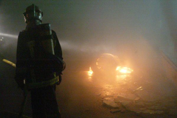 Mardi soir, lors d'une intervention à Étampes, un pompier a été blessé au mollet par un tir de balle. (image d'illustration)